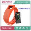 Bracelet intelligent de moniteur du rythme cardiaque imperméable à l'eau de Bluetooth