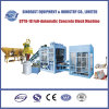 Machine de effectuer de brique concrète hydraulique complètement automatique (QTY9-18)