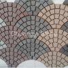 Cubo del granito G654/G603/G684/G682/G654/ciottolo/pietra per lastricati per il paesaggio/giardino/decorazione esterna, ciottoli con la parte posteriore della maglia sopra