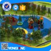 Im Freien attraktives Plastikgerät des Spielplatz-2015 (YL-W013)