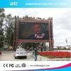 Multimedia publicidad al aire libre pantalla LED, pantalla LED Fuera Pixel Pitch 16mm