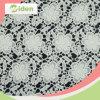 Tessuto chimico del merletto di disegno solubile in acqua amichevole del fiore di Eco