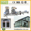 La machine de fenêtre de PVC UPVC/double découpage principal a vu
