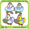 Ricordo di gomma molle di turismo del gallo del magnete del frigorifero dei regali promozionali (RC-R02)