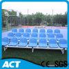 Blanqueador portable al aire libre del metal con los asientos plásticos del estadio de Guangzhou