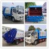 4X2 de Vuilnisauto van de Compressie van Dongfeng van de Vrachtwagen van de Collector van het afval