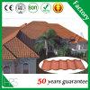 La toiture ondulée couvre type Romance enduit en pierre de tuile de toit en métal le nouveau