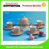 Insiemi di ceramica unici del tè e di caffè di disegno popolare