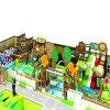 Belle cour de jeu d'intérieur d'enfants d'arbre de noix de coco du château 2016 et de lit d'eau