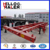 40FT 3 Axles Chassis Trailer mit 12 Wheels