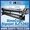 3.2 Epson Dx7 Head 1440年のDpiのM Sinocolor Sj-1260 Eco Solvent Printer