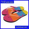 Summer BeachのためのColorfulの靴の中敷とのPE Unisex Flip Flops