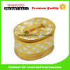 金のGulitterデザイナーPUジッパーが付いている装飾的な旅行袋