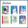 싼 가격 주문품 로고는 크리스마스 디자인 종이 봉지를 인쇄했다