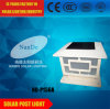Agradable iluminación solar poste ligero de Garantía de Calidad
