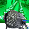 6 en 1 Rgbwauv 18 * 10W LED PAR Light
