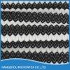 Tela branca preta do laço, tela misturada do laço da cor