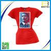 Los hombres crean la camiseta al por mayor caliente de la campaña electoral para requisitos particulares de del voto de la manera del algodón
