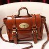 ドバイの卸し売り市場のレトロの大学実質の革製バッグ(EMG4138)