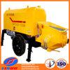 Pompe concrète stationnaire diesel efficace élevée de Linuo Hbt de CS