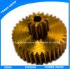 Messing-Hardware-Ersatzteile CNC-maschinell bearbeitenübertragungs-Fahrwerk