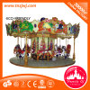 16 Seater Archaize Carousel Amusement Park MerryはKidsのためのRound行く