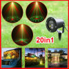 laser Stage Lights Christmas Lighting de 20in1 Outdoor Waterproof