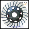 Polishing Concrete와 Floor를 위한 테라조 Grinding Cup Wheel