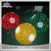 Luz impermeável da esfera do Natal do diodo emissor de luz da grande decoração Home festiva