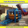 Machine de fabrication de brique concrète automatique avec le système de presse hydraulique de pétrole
