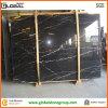 Черное Nero Marquina Marble Slabs для Workbench/Table