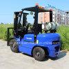 2.5 톤 Cpqyd25 Gasoline 또는 LPG Forklift Standing Forklift