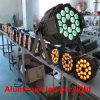 Het professionele Licht van het Stadium DMX512 Goedkope BinnenPAR64 Lichte 18PCS Rgbaw