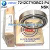 Rolamento de esferas angular do contato da elevada precisão de NSK 7212ctydbc2p4 60X110X22mm