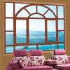 Moderne kundenspezifische Doppelt-Schicht, die abgehärtetes Verglasung bereiftes Fenster (FT-W80, isoliert)