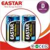Батарея D/Lr20 супер силы IEC стандартная алкалическая сухая с фабрикой Eastar