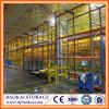 Construção de aço que constrói a cerca portátil da divisória de cremalheira do armazém de armazenamento frio
