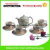 Tazza e piattino di caffè di ceramica opachi promozionali del tè
