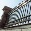Im Freiendekoration-Stahlauslegung-bearbeitetes Eisen-Garten-Zaun