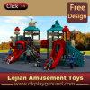 Neue Auslegung-Serien-Art-haltbarer im Freien Plastikplättchen-Spielplatz (X1507-10)