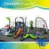 Patio al aire libre de la diversión colorida hermosa del jardín de la infancia