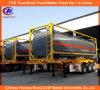 30t ISOの40feet Chemical Liquid Tanker Container Tank Container