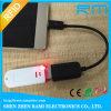 trabalho Android do sistema da sustentação do leitor do smart card de 125kHz RFID com telemóvel