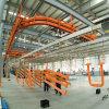 Procédé de protection automatique avancé de pulvérisation de poudre pour le profil en aluminium