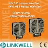 100W Flat Design Compact Hochleistungs- Cartridge Electrical Fan Heater mit CER für Switchgear Panel (HV/HVL031)