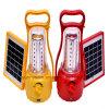 Emergencia recargable LED que acampa solar de iluminación portátil para uso al aire libre
