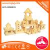 La qualité badine le bloc constitutif en bois de brique de jouet à vendre
