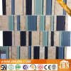 부엌 Backsplash Porcelain Thin Tile와 Glass Mosaic (M555015)