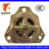 Motor da rotação da tampa 60W do amarelo do tripé