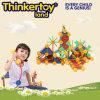 Stuk speelgoed van de Bakstenen van de Bouw van peuters het Professionele Plastic Onderwijs